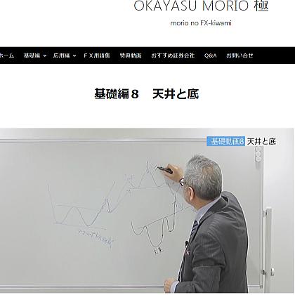 「岡安盛男のFX 極」評価と個人トレーダーが選ぶべきFX教材を実践動画での巻